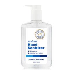 70% 75% 알콜 살균성 손 젤 휴대용 & 대량 손 소독제 젤을 습기를 공급해 즉시 건조한 손 소독제 젤 세척하 자유로운 반대로 박테리아