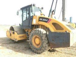 Usado Xcmgg Xs223J/Bomag Bw217-2/Liugong 622/Dynapac cc421/cc211/Ca251d/Ca25 Compactador/rolete de estrada /Utilizado Rolo Dynapac/ Pneus Duplos