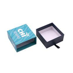 エコフレンドリーカスタムロゴプリントラグジュアリーリジッドカードボードギフト包装 マットピンクスライド引き出し用紙ボックス