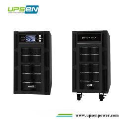 3 レベルインバータ技術オンライン UPS 電力 6kVA =6kW 10kVA =10kW ( PF1 使用時)、設定可能な AC 充電器 1A-12A 、設定可能な DC 電圧 144VDC 192VDC 240VDC