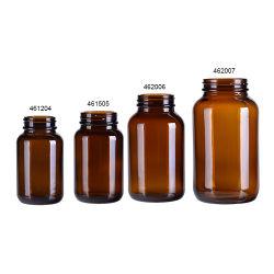 Bouteille de verre ambré de l'industrie pharmaceutique de pesticides de la médecine vétérinaire bouteille