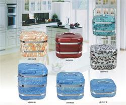 2L Quadrada Buffet térmico para a parte mais quentes do recipiente de alimentos ou de um piquenique ou de restauração