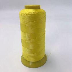 Polyester haute ténacité thread thread cautionné pour faire de la machine