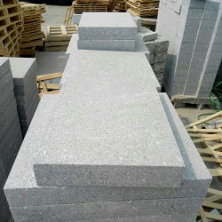 Cinza Natural Branco Preto Vermelho Amarelo para pisos de granito/Escada/Lado a lado passos/Tombstone/Pavimentação/Pavimento