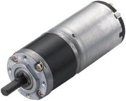 22mm 12V 24V schwanzloser elektrischer Gleichstrom-Motor mit planetarischer Gang-Verkleinerung für Walzen-Blendenverschluß