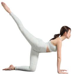 De naadloze Yoga van Vrouwen hijgt het Lopende Kostuum van de Yoga van de Bustehouder van de Sporten van de Camouflage van de Oefening van de Fitness Slanke