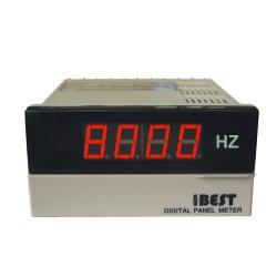 Dp8 Precio económico pantalla LED de 4 Hz de frecuencia electrónicos digitales Tacho Linespeed Medidor de Panel de 24VDC/AC220V (IBEST)