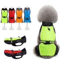 Die Haustier-Produkt-Hersteller-Großverkäufe des Haustier-Regenmantels europäisch und der amerikanische große Hundehund imprägniern Stormcoat reflektierende Kap-Haustier-Kleidung