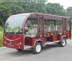 2 de alta qualidade para 18 lugares Carro Eléctrico passeios ônibus turístico fabricados na China