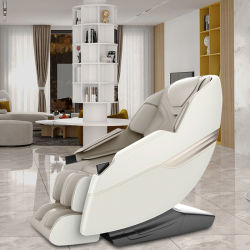 Bille de pétrissage puissant Robot 3D part fauteuil de massage corporel complet avec écran LCD