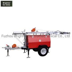4*Generador Diesel de 1000w Mobile Torre de Luz (KLT-8000)