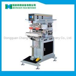 셔틀 타포 인쇄를 지원하는 고품질 2 컬러 패드 프린터 판매용 장비(HX-M2/S)