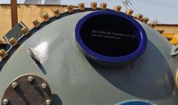 Vidrio forrado de reactor para producir los pesticidas agrícolas