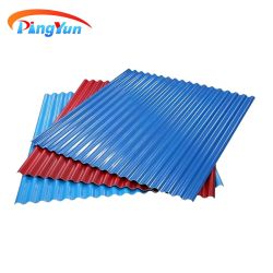 PVC-Material Kunststoff-Wand-Wavy Dachziegel für Civil Gebäude