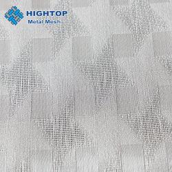Maglia d'argento del nastro metallico di colore usata per vetro laminato