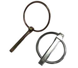 Pasador de traba de seguridad de los pasadores con anilla de Zinc