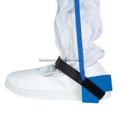 Reinraum Blau Verstellbare ESD Anti-Static Knöchel Erdung Fersenriemen Knöchel Erdungsband