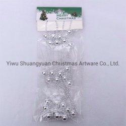 Подвешенные Рождество декоративная рельефная рулон Пластиковый валик цепи