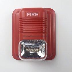 기본 가격 12V 24V DC 화재 경보 섬광등 경보 시끄러운 경고음을 가진 사이렌