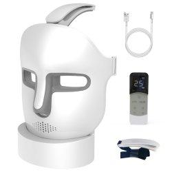 China Hersteller 3 Farben 357 LED Perlen Gesicht Beauty Maske Frauen Gesichtspflege Licht Photon LED Gesichtshaut Rejuvenation Instrument