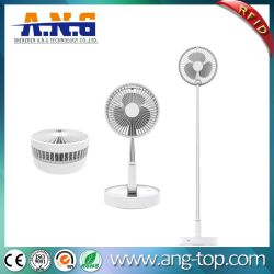 USB LED recargable regulable plegable telescópico de humidificación del ventilador de soporte de mesa Mini portátiles Ventilador de plegado