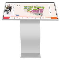 LCD Digital Signage Tótem de la pantalla táctil Quiosco interactivo de información
