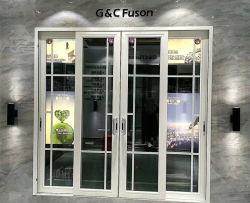 A venda da fábrica de alumínio de alta qualidade de porta corrediça lindo design da porta de vidro corrediço de porta de alumínio