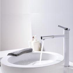 MP2007 loiça sanitária revestimento em pó branco Zinc-Alloy alavanca única casa de banho latão maciço Lavatório torneira da Bacia de mistura