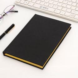 Um acadêmico5 personalizada de logotipo de notas de couro PU diário nota Livro Planejador de capa dura Oficial Notebook personalizado