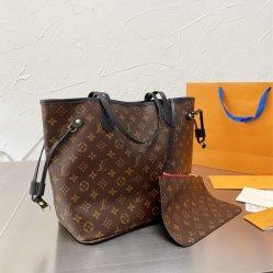 2021 Fashion padrão clássico Louis Réplica Hangbag Saco One-Shoulder Balde de grande capacidade