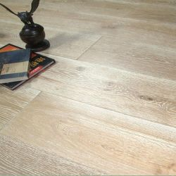 Fio de carvalho Branco Polido Lavado Multilayer Carvalho interior projetado pisos em madeira
