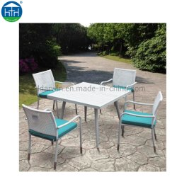 Commerce de gros luxe Garden Beach patio Meubles de jardin en rotin de maillage