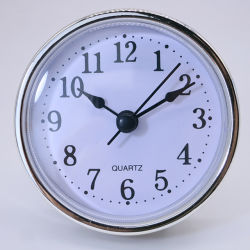 مرح 65 [مّ] ساعة ملحقة [هيغقوليتي] بلاستيكيّة 2.5 بوصة [سمبل تبل كلوك] ملحقة