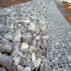 Chapas Galvanizadas Rio Proteger Gabião Cesta/Caixa de gabião
