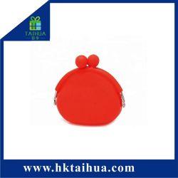 Borsa della moneta del silicone di colore della caramella di buona qualità per l'imballaggio di tasto dei soldi