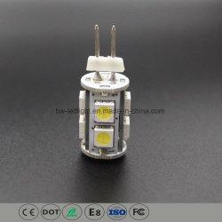G4 светодиодные лампы бокового габаритного фонаря автомобиля (G4-009Z5050)