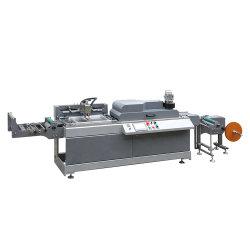 آلة طباعة على الشاشة الحريرية مزودة بحافة لون واحدة آلية بالكامل لأسطوانة اللف الشريط الساتان لشريط الحرير لشريط القطن، شريط لاصق، قطعة أحذية، ملصق العناية بالغرانية للقميص التائي (JDZ-2001)