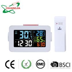 Multifunktionsinnenim freienthermometer-Radioapparat mit Alarmuhr-Hygrometer
