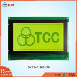Monochrom 240X128 Punktematrix LCD-Baugruppe der Bildschirmanzeige-LC7981 grafische