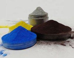 에폭시 수지 표면 산업용 분무 분말 코팅 자동차 페인트 색상