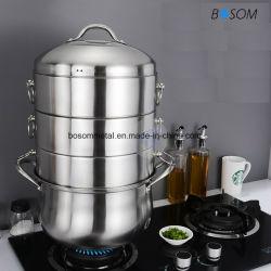Acero inoxidable 3pcs la mezcla de vapor menaje de cocina