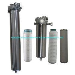 Huisvesting van de Filter van het Water van de Patroon van het Roestvrij staal SS316 SS304 Enige 10 20 30 40 Duim