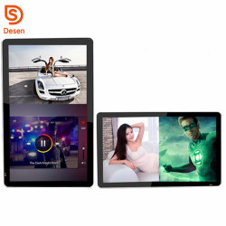 Publicidade LCD Player Vlc Media Player baixe Ad Player 43 polegada seis Ad Player de mídia de vídeo