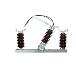 H. V. al aire libre Combinación de rotura por carga Interruptor de desconexión de aislante eléctrico