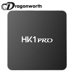 TV Box HK1 PRO S905X2 4G 32g Receptor Digital Receptor de satélite Caja de Música TV receptor de satélite con mando a distancia