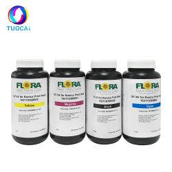 حبر Flora UV الأصلي لـ Ricoh Gen5 Gen6 Konica 512 1024 1024I طابعة رأس الطباعة التي تعمل بالأشعة فوق البنفسجية