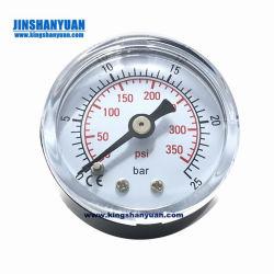 Feuerlöscher-Ministab 6-11 ABS Plastikdichtung 1 Zoll-Membranmessingdruckanzeiger für Feuer