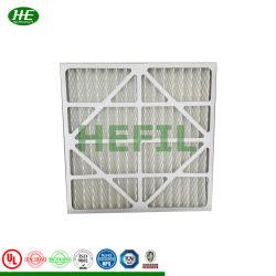 Fibra sintética lavable principal del Panel de alta temperatura de la eficiencia del filtro de aire para soplar microondas