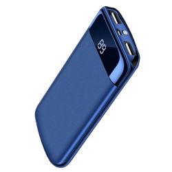 10000mAh Batería Externa del Banco de potencia 2 LCD Powerbank Poverbank USB portátil cargador de teléfono móvil de Xiaomi mi iPhone x