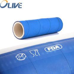 6 inch 30 bar blauw NBR tipple rubberen slang afvoer voedseloverdracht Slang, plantaardige olieweerstand